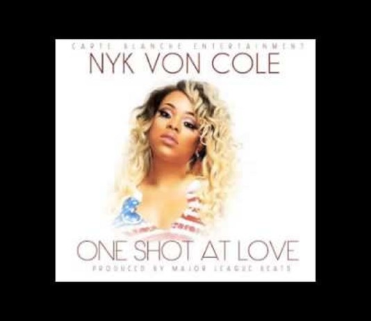 Nyk Von Cole One Shot At Love, nyk von cole, major league beats, independent music, superindykings
