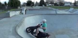 Guy Fails, Guy Falls, Skatepark, Fails, Funny Videos, Moped Crash, Blog, SuperIndyKings,