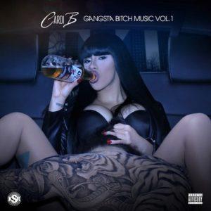 Cardi B Gangsta Bitch Music Vol 1, cardi b, female emcee, gangsta bitch music vol 1 mixtape, superindykings