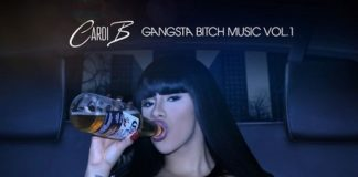 Cardi B Gangsta Bitch Music Vol 1, cardi b, female emcee, gangsta bitch music vol 1 mixtape, superindykings