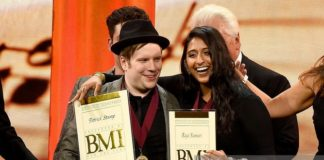 raja kumari was honored, raja kumari, bmi awards, fall out boy, superindykings,