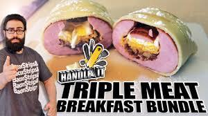Epic Meal Time, Triple Meat Breakfast Bundle, Handle It