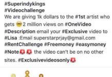 SuperIndyKings.com, Music Video Challenge