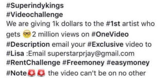 SuperIndyKings.com, Music Video Challenge