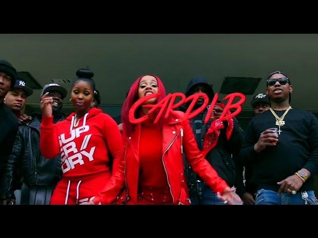 Cardi B Red Barz